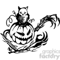 Halloween clipart illustrations 002