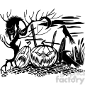 Halloween clipart illustrations 042
