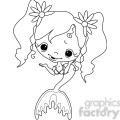 Girl 2 Doll Mermaid 3