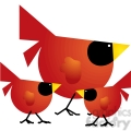 Red Cardinal 03 Family
