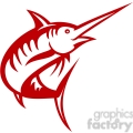 red swordfish left view  gif, png, jpg, eps, svg, pdf