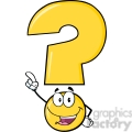 6258 royalty free clip art happy yellow question mark cartoon character pointing with finger  gif, png, jpg, eps, svg, pdf