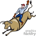 bull riding cowboy bucking gif, png, jpg, eps, svg, pdf