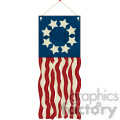 4th July Flag Streamer Craft