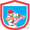 batter swinging in shield shape  gif, png, jpg, eps, svg, pdf