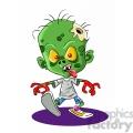 zombie child cartoon