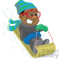 winter fun snow sledding  gif, png, jpg, eps, svg, pdf
