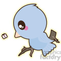 cartoon Bird illustration clip art image