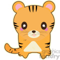 cartoon Tiger illustration clip art image