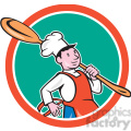 chef cook marching spoon CIRC