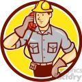 telephone repairman calling phone circ  gif, png, jpg, eps, svg, pdf
