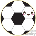 soccer ball with cartoon face  gif, png, jpg, eps, svg, pdf