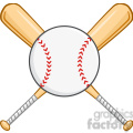 crossed baseball bats and ball  gif, png, jpg, eps, svg, pdf