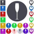 champagne glass icon pack  gif, png, jpg, eps, svg, pdf