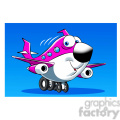 commercial airline vector image happy skyler