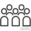 group of people vector icon  gif, png, jpg, svg, pdf