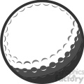 gray vector golf ball  gif, png, jpg, eps, svg, pdf