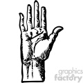 William Cheselden vector right hand bottom anatomy art