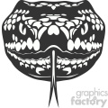 snake head vector art