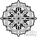 mandala geometric vector design 003