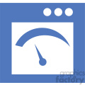 gui gauge vector icon