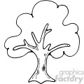 tree outline image