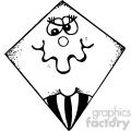 kites 001 black white