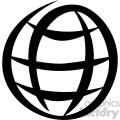 global vector flat icon