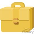 briefcase vector flat icon