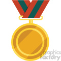 award ribbon vector flat icon clipart with no background