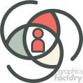 user predictions vector icon