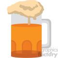 beer glass no background