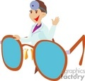 doctor with huge  eyeglasses gif, jpg