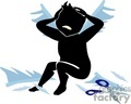shadow people silhouette upset stressed stress   people-140 clip art people shadow people  gif, jpg