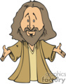cartoon Jesus