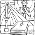 christian religion religious jesus pray bible bibles christian_ss_bw_103 clip art religion christian  gif