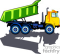 heavy equipment construction truck trucks dump   transport_04_055 clip art transportation land  gif
