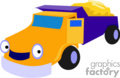 heavy equipment construction truck trucks dump   transport_04_085 clip art transportation land  gif