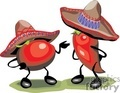 chile pepper and tomato talking