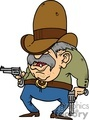 cartoon gunslinger