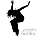 people shadow shadows silhouette silhouettes black white vinyl ready vinyl-ready cutter action vector eps png jpg gif clipart jump jumping female girl