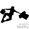 people shadow shadows silhouette silhouettes black white vinyl ready vinyl-ready cutter action vector eps png jpg gif clipart jump jumping excited
