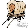 western cowboy cowboys vector wild west wagon covered wagon old