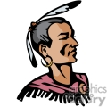 indian indians native americans western navajo face head man vector eps jpg png clipart people gif gif, png, jpg, eps