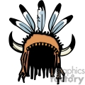 native american headpiece gif, png, jpg, eps