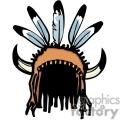 Native American headpiece
