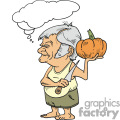 Man thinking about how his is going to carve his pumpkin