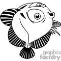 funny Flat bug Eyed Fish