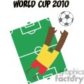2527-Royalty-Free-Abstract-Soccer-Player-With-Balll-In-Front-Of-Stadium-Text