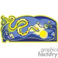 snake lit up by the moon gif, png, jpg, eps, svg, pdf